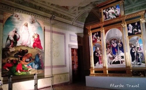 Dipinti di Lorenzo Lotto - Museo Villa Colloredo Mels, Recanati