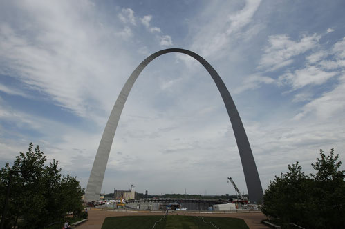 Das Gateway Arch in St. Louis