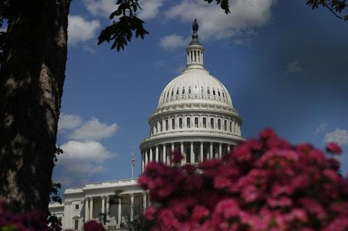 Das Kapitol in Washington DC