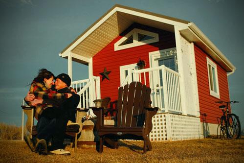 Tiny House Kanada, love is not tourism, Fernbeziehung in Corona