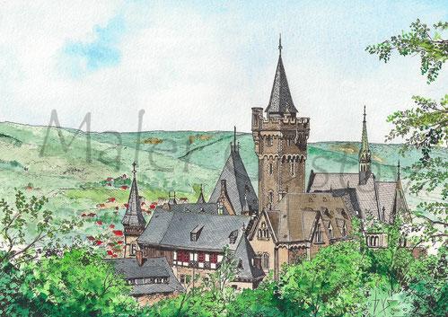 Das Wernigeröder Schloß