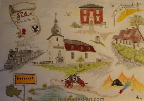 Die Geschichte von Tröbsdorf 2013