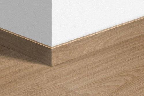 Plinten maken je laminaat vloer helemaal af.