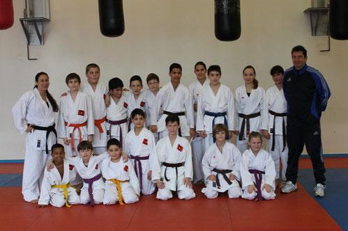 Gemeinsames Training Hara Köln und Bushido Köln