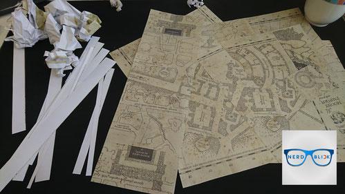 Karte Des Rumtreibers.Karte Des Rumtreibers Diy Nerdblick