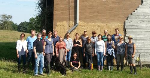 Referenten und Teilnehmer der Schulung zum Fledermausbotschafter Bild: Sarah Sherwin