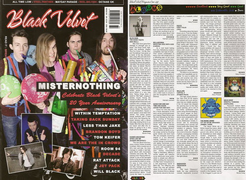 OBSESSION REVIEW im BLACK VELVET Magazin