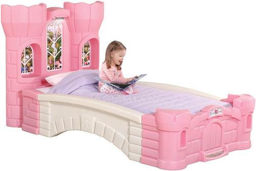 Cama Individual para niña Step2 Princess Palace Twin Bed modelo ...