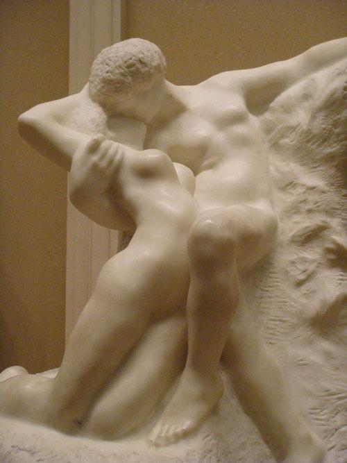 l'éternel printemps auguste rodin sculpture marbre couple nu nouveausculpteur