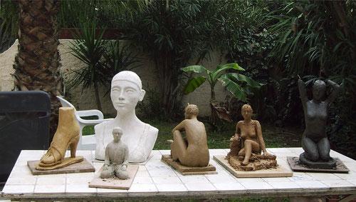 sculptures argile femme nue, sculptures de nus artistiques  sculptures de nus féminin  sculptures et peintures de nus érotiques et sensuels  sculpture femme enceinte