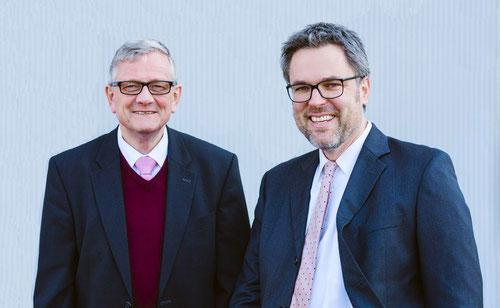 Dr. jur. Norbert Hölscheidt und Lars Köster