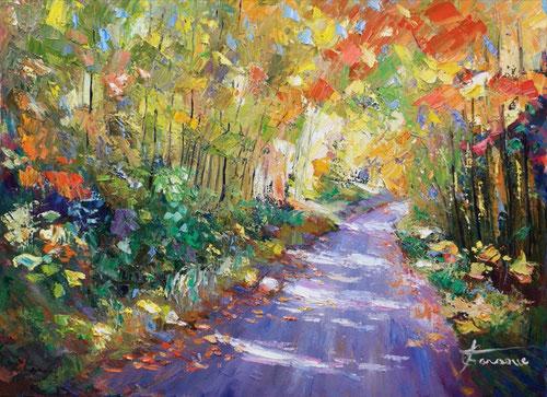 Peintre impressionniste contemporain