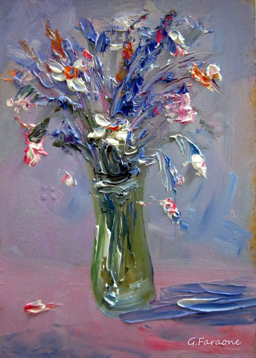 Impressionist contemporary artists, giuseppe faraone