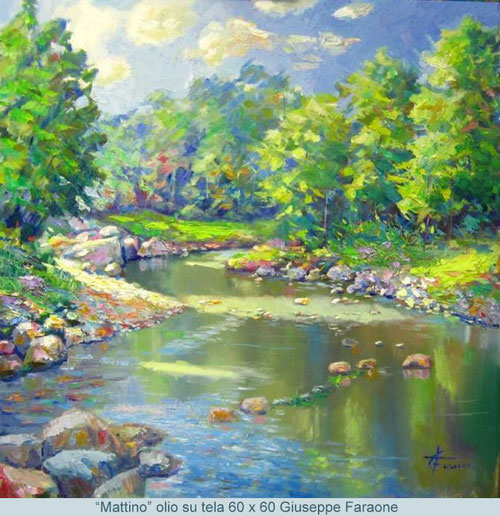 pintores impresionistas actuales, Giuseppe Faraone