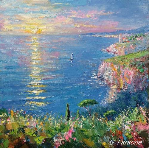 dipinto del pittore impressionista contemporaneo italiano Giuseppe Faraone