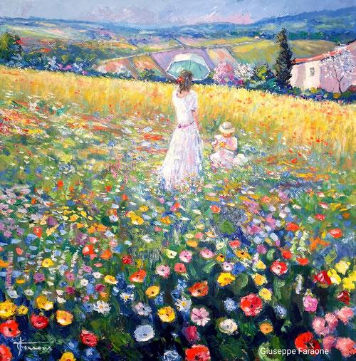 Primavera dipinto, Giuseppe Faraone