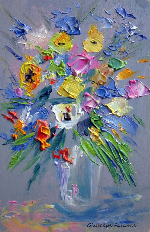vaso fiori giuseppe faraone