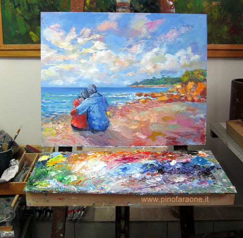 Contemporary Impressionist painter G.Faraone