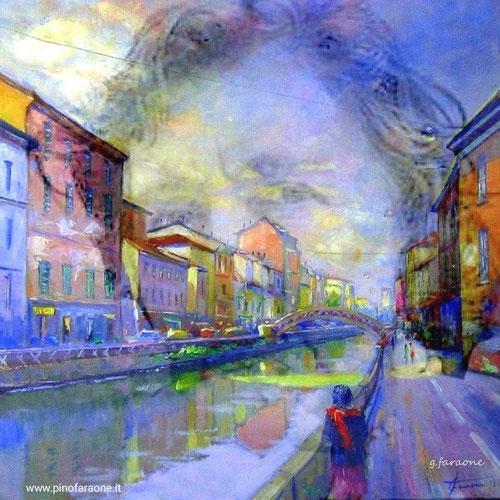 Alda Merini, dipinto