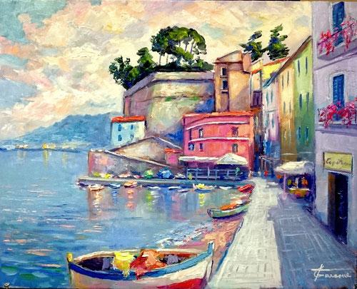 macchiaiolo Italian painter, Giuseppe Faraone