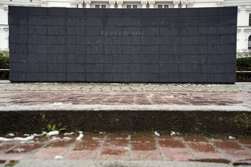 Sol LeWitt: Black Form - dedicated to the missing Jews (1987-89)