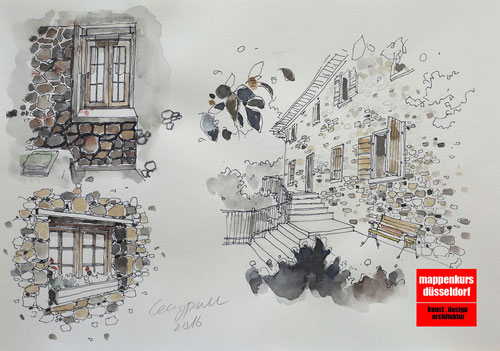 Mappenkurs Illustration, Illustrationsmappe, Illustrationstudium Düsseldorf NRW
