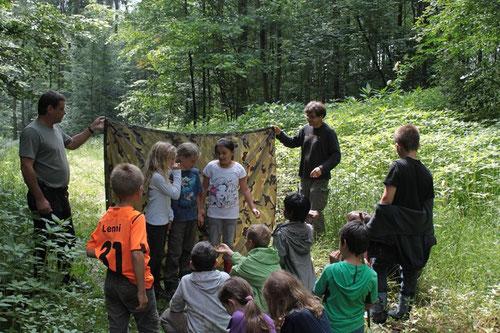 Wald- und Wildnisprojekt Tausschule: Natur-Theater