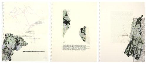 dissoziiert geschichtet, collagen © 2011