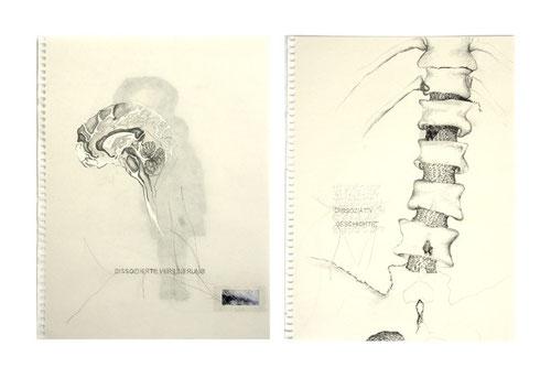 dissozierte verinnerung, collagen © 2011