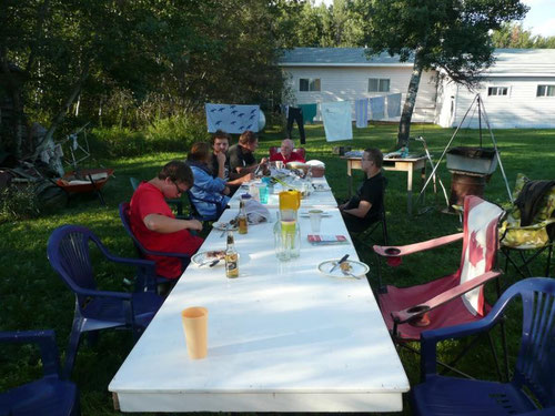 Barbeque in the summer