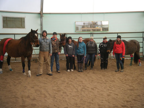 First Aid Course at Spruce Row Stables, Leoville