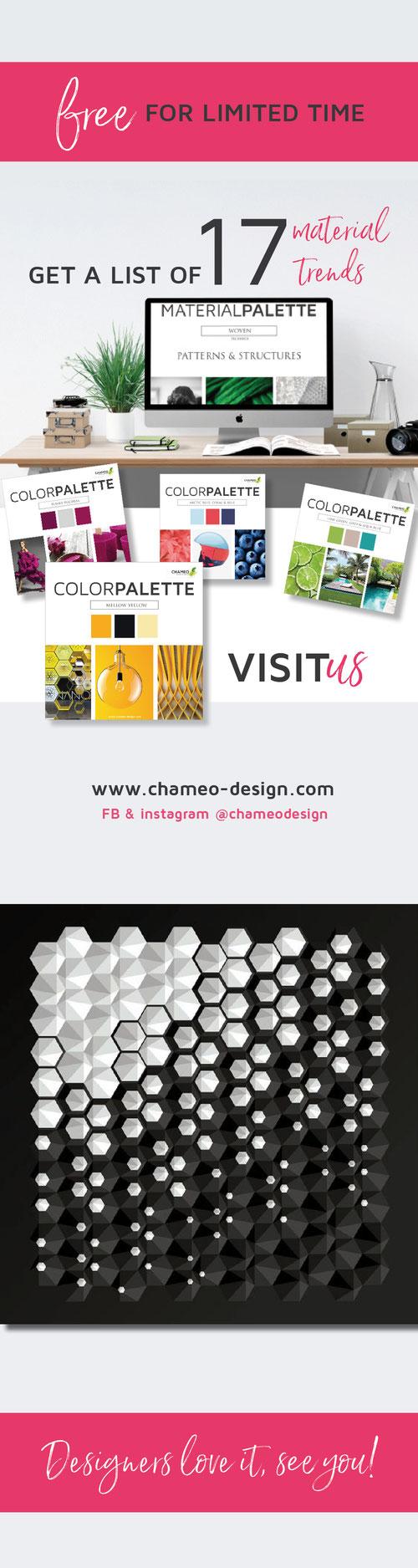 Get a list of 16 material design trends - visit follow @chameodesign on pinterest
