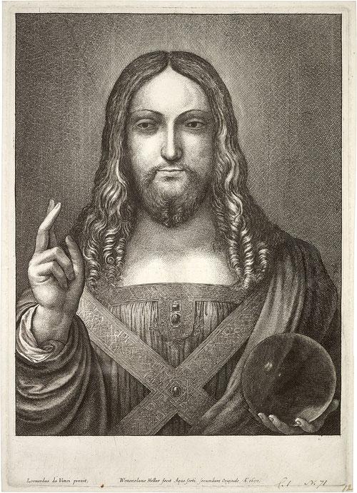 ボヘミアの芸術家ヴァーツラフ・ホラーの作品。1650年。