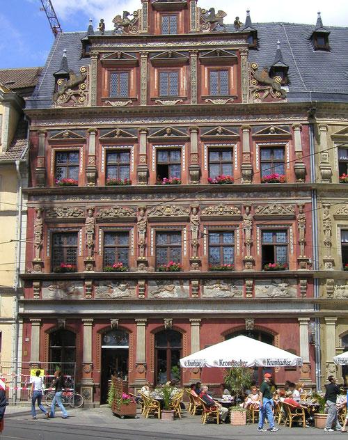 Erfurt, Rathausplatz
