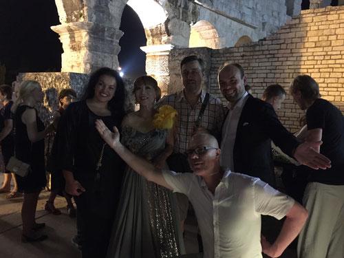 Kristina Kolar, Sumi Jo, Robert Kolar, Ville Matvejeff and Marin Bazevic - Arena Pula