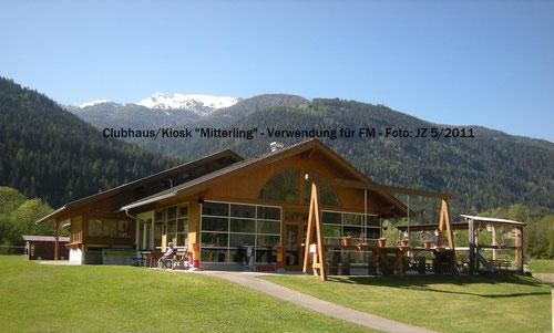 """Clubhaus/Kiosk """"Mitterling"""""""