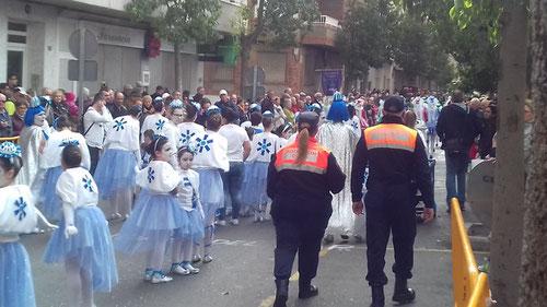 Karneval torrevieja policia seguridad
