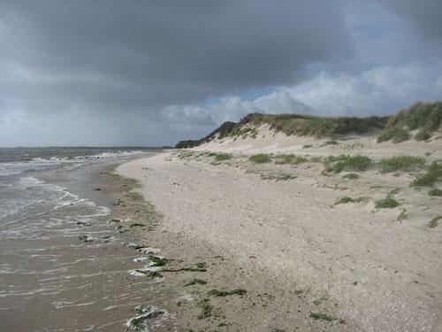 Ostende Wangerooge 05.09.2015 Hochwasser Sturm