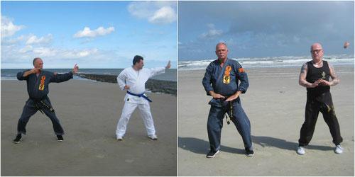 Günter Wolf Detlef Schröder Erich B. Ries Kenko Kempo Karate