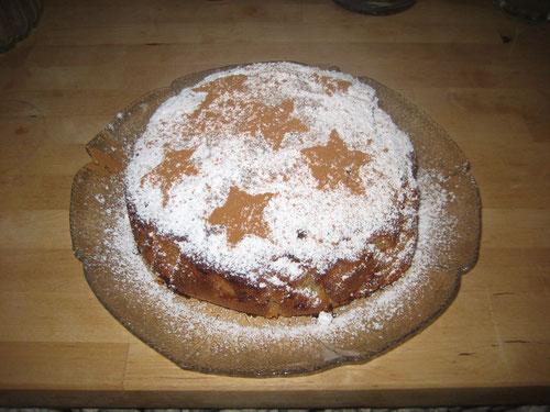 Vollwert-Dinkel-Apfelkuchen aus Dinkelmehl Typ 1050 - lecker und gesund!