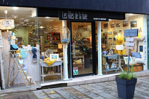 """Boutique """"Les filles de la baie"""" à St Brieuc"""