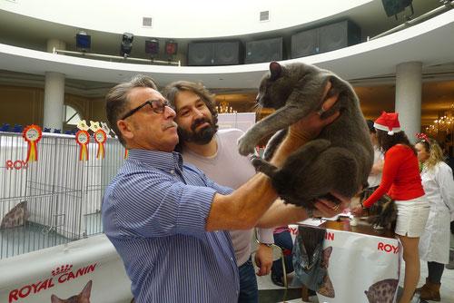 Sr. Luigi Comorio (IT) & Sr. Juan José Martínez (ES) valorando a Kyu