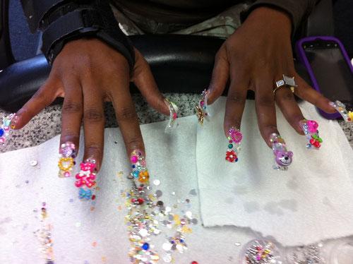 3d Nail Art Designs Sactown Nails