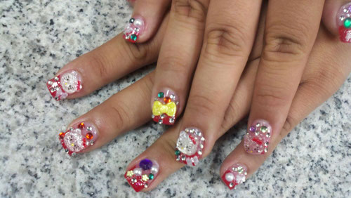 3D Nail Art by Sactown Nails