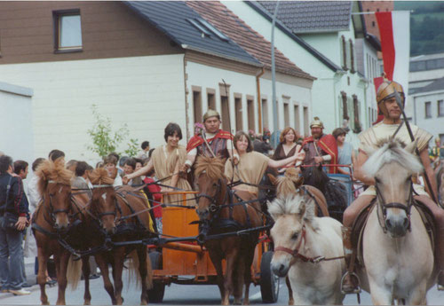 Historischer Festzug am 31. August 1980