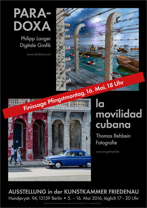 Poster II Ausstellung 2016