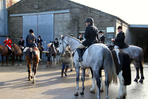 The hunt comes to Burrington March 1st 2014