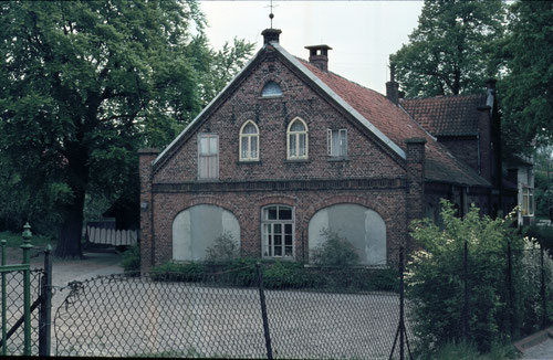 Alte Burgdammer Schule, Foto aus dem Sommer 1970