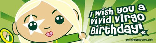 I wish You a Vivid Virgo Birthday!