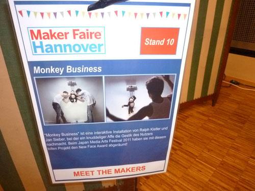 Monkey Business - Erkennen von Gestik und Bewegung
